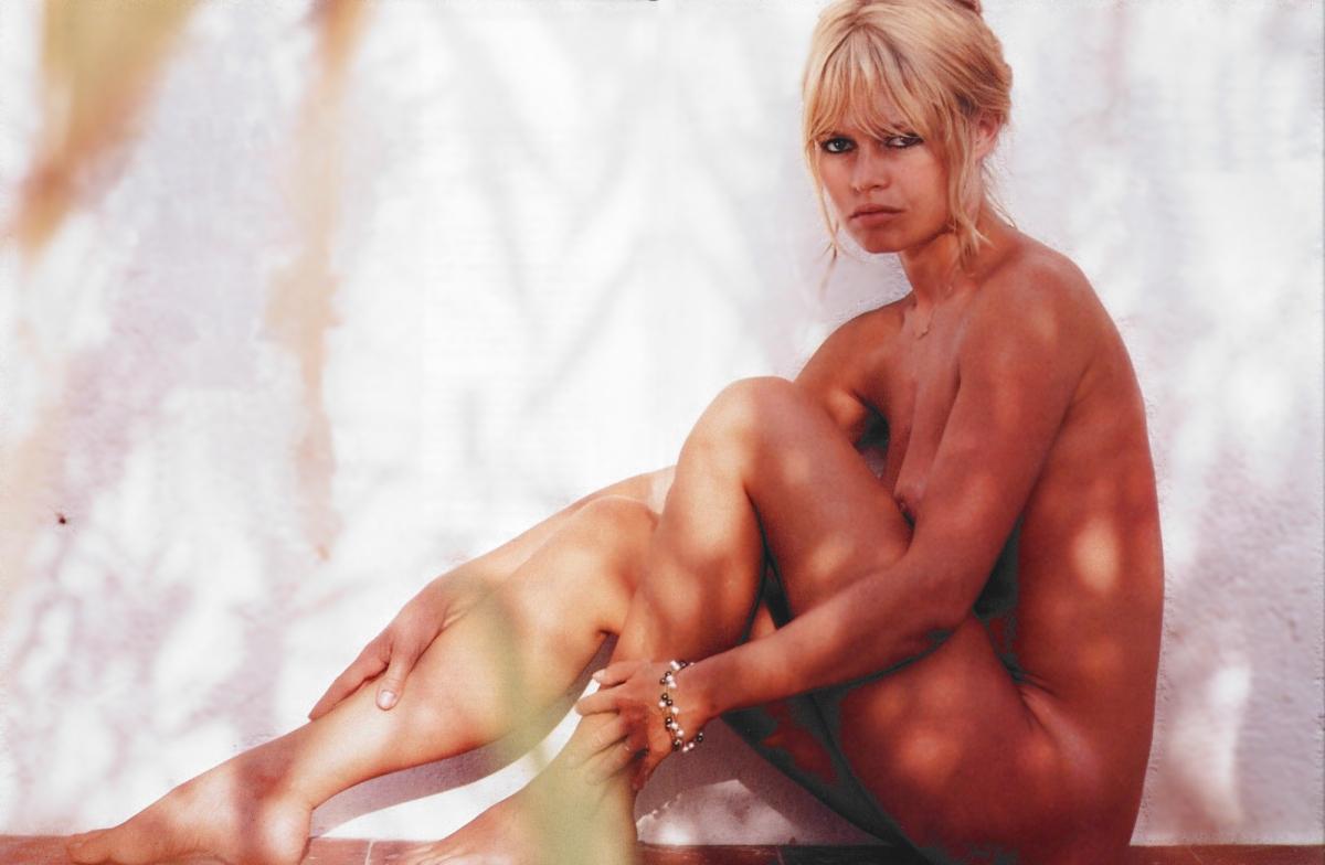 bridget bardot in the nude