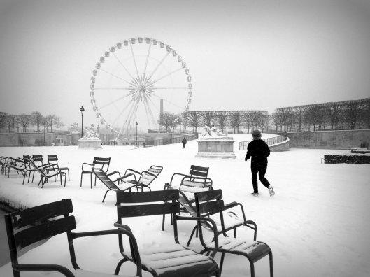 2013-01-21-TuileriesSnowB&W