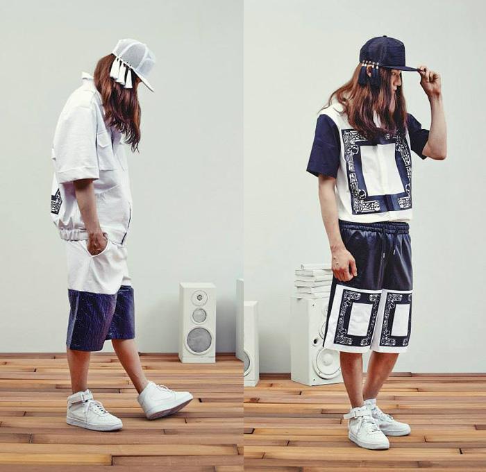 kathleen-kye-south-korean-streetwear-2014-spring-summer-mens-lookbook-band-aid-metallic-gold-multi-panel-skulls-bones-print-motif-athletic-sportswear-01x